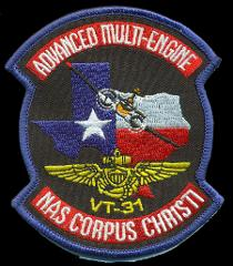 US NAVY VT-31 ADVANCED MULTI-ENGINE STUDENT PATCH NEW!!!
