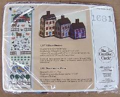 Creative Circle Designs 1681 Village Houses / Down on Farm Nee...