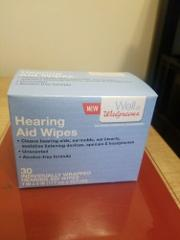 Well At Walgreens 30ct Hearing Aid Wipes Individually Wrapped