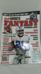 Lindy's Sports NFL Fantasy Football Top 200 Pullout Cheat Shee...
