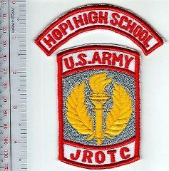 Hopi High School Junior Army Reserve Officer Training Corps Br...