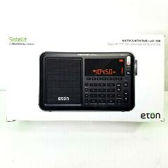 Eton NGWSATB Satellit AM/FM with RDS and Shortwave Radio, Black
