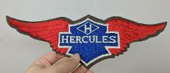 Hercules Motorcycle Sew On Jacket Back Shirt Patch Emblem Wing...