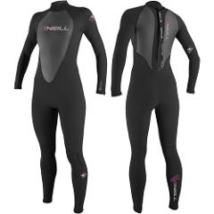 NEW O'Neill Womens Full Wetsuit Size 4,8 Reactor 3/2