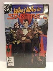 Who's Who in Star Trek #1 Comic Book DC 1987