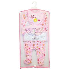 Snugly Baby Boy And Girl 5 Piece Set