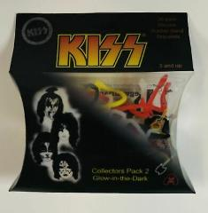 KISS Collectors Pack 2 Silicone Shaped Glow in the Dark Bandz ...