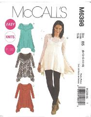 6398 UNCUT McCalls Sewing Pattern Misses Close Fitting at Bust...