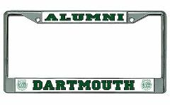 Dartmouth College Alumni Photo License Plate Frame