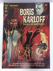 Boris Karloff Tales of Mystery #18 Comic Book Whitman 1967