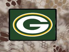 Green Bay Packers, Morale Patch, Hook and Loop, We Make Custom...
