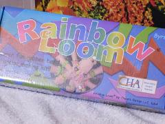 CRAFTING MINI RAINBOW LOOM WITH HOOK & RUBBER BANDS BY CRAFT &...