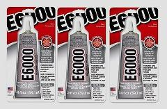 3 E6000 All Purpose Industrial Strength Adhesive Permanent Bon...