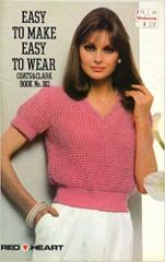 Easy To Make Easy To Wear - Coats and Clark - #302 - Knitting ...