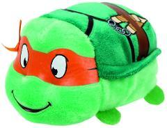 Ty Teeny Teenage Mutant Ninja Turtle Michelangelo Stuffed TMNT...