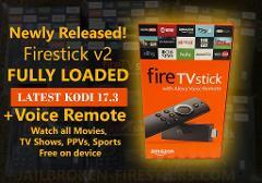 Loaded Amazon Fire TV Stick 2nd Gen Kodi 17.4 Live TV,Movies,T...