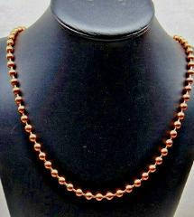 100% COPPER BALL CHAIN Necklace 6.3mm bead ~ #13 size Various ...