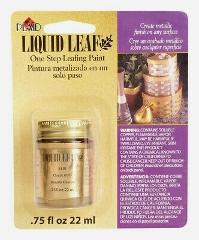 Plaid LIQUID LEAF Metallic Classic Gold Glaze 0.8 oz One-Step ...