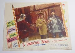 A Connecticut Yankee in King Arthur's Court Lobby Card Movie P...