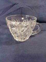 Vintage Punch Cup Anchor Hocking Glass Arlington Pattern