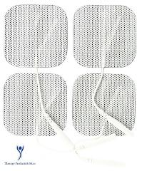 8 Square Replacement Electrode Pads for Bluestone TENS Pulse M...