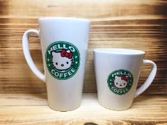 Personalized Latte Mugs Hello Kitty