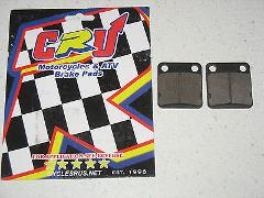 Front NEW BRAKE PAD SET 2007-2011 YFM350 FGIH GRIZZLY IRS HUNT...
