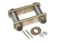 Complete Heavy Duty front leaf spring shackle kit Willys CJ Fo...
