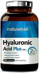 Max Strength Hyaluronic Acid 100mg 180 Capsules Skin Hydration...