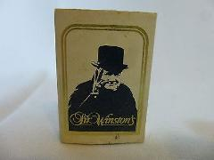 Sir Winston's Hotel Queen Mary Matchbook Match box Long Beach CA