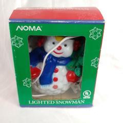 Noma lighted snowman christmas