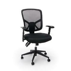 Essentials Customizable Ergonomic High-Back Mesh Task Chair wi...
