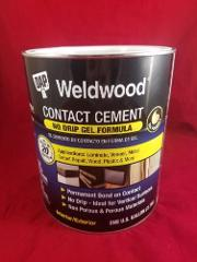 1 Gallon Can Dap 25312 Weldwood Contact Cement Gel Formula 4 Q...