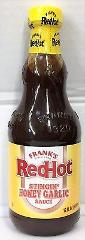 Frank's RedHot Stingin Honey Garlic Sauce 12 oz Franks Red Hot