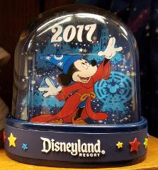Disneyland Resort 2017 Sorcerer Mickey Mouse Double Sided Snow...