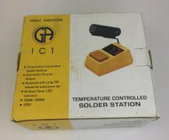 NEW Vintage Great American Temperature Controlled Solder Stati...