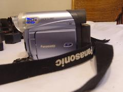 Panasonic PVGS12 Digital Palmcorder Camcorder w/20x Optical Zo...