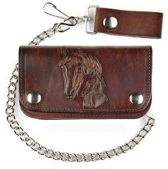Western Express Horse & Foal Antique Leather 6