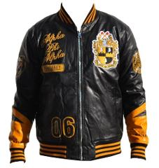 Alpha Phi Alpha Leather Fraternity Jacket Alpha Phi Alpha Jack...