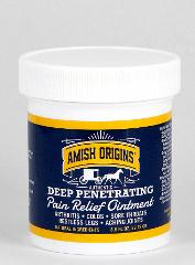 Amish Origins Deep Penetrating Pain Relief Ointment Restless L...
