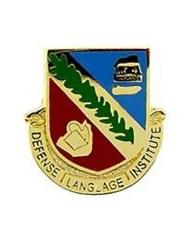 US Army Defense Language Institute Pin