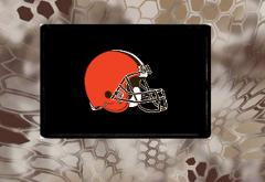 Cleveland Browns, Morale Patch, Hook and Loop, We Make Custom ...