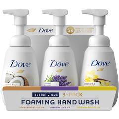 Dove Foaming Hand Wash Variety Pack 3 pk.