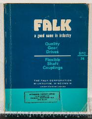Vintage Falk Gear Drives Couplings Catalog Milwaukee 1974 tob