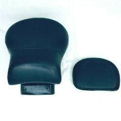 Harley Davidson Motorcycle Backrest Seat 833 Black Leather