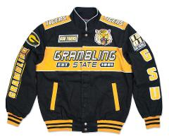 Grambling State University Racing Jacket GSU Tigers
