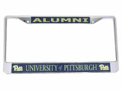 University of Pittsburgh Alumni On Blue Background Chrome Lice...