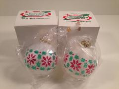 Bronner's Christmas Ornaments - Lot Of 2 - Frankenmuth, MI -...