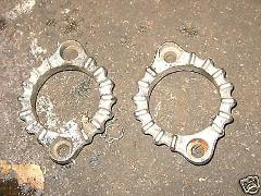78 YAMAHA XS750 XS 750 SPECIAL EXHAUST CLAMPS #3