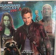 Marvel Guardians of the Galaxy Vol 2 SEALED 16-Month 2018 Cale...